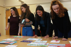 St John Rigby Students Judge Annual Christmas Card Competition