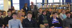 Lisa Joins St John Rigby Students to Hear Holocaust Survivor Testimony